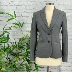 Theory Heather Gray Pant Suit